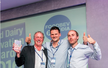 Fairebel ontvangt prestigieuze Innovation Award in Londen